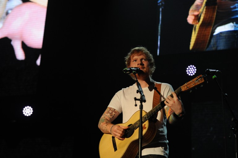 Ed Sheeran Live in Kuala Lumpur 2015 Slide 4