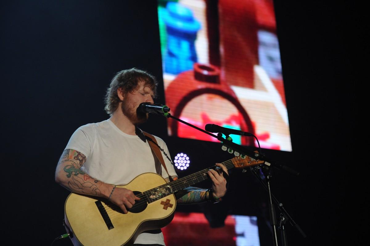 Ed Sheeran Live in Kuala Lumpur 2015 Slide 6