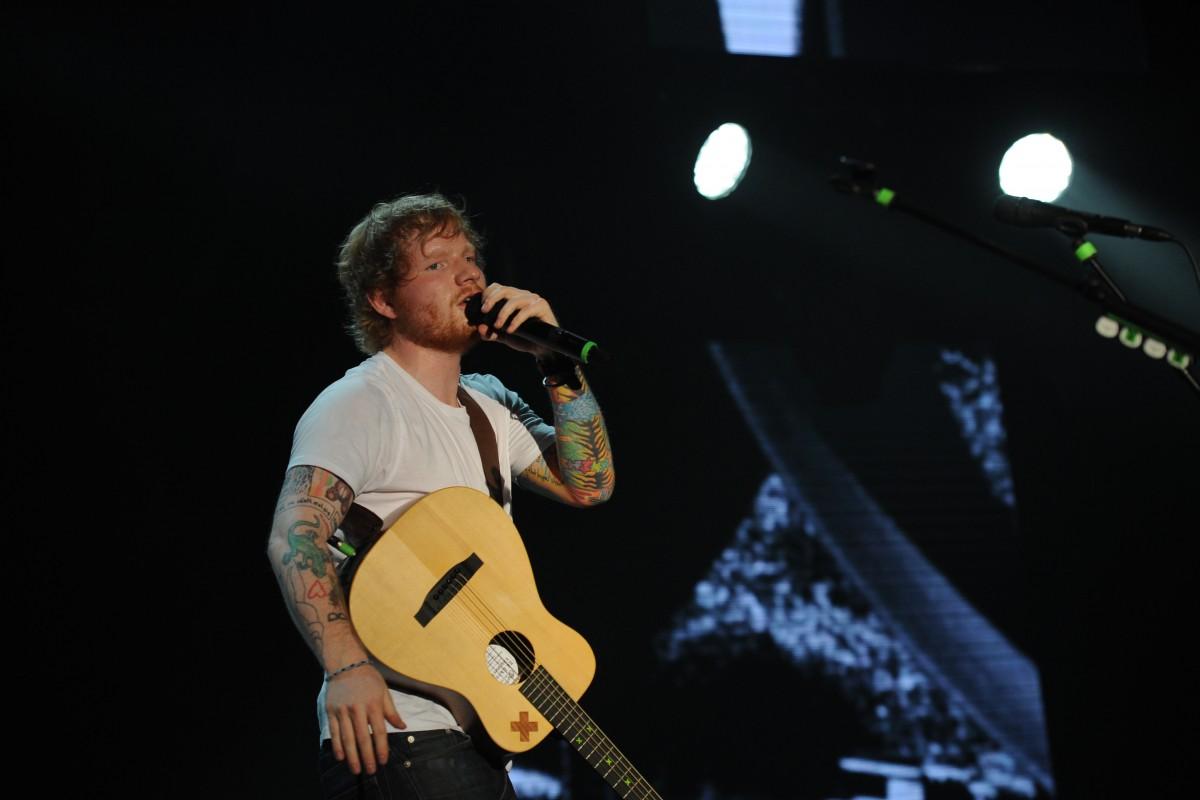 Ed Sheeran Live in Kuala Lumpur 2015 Slide 7