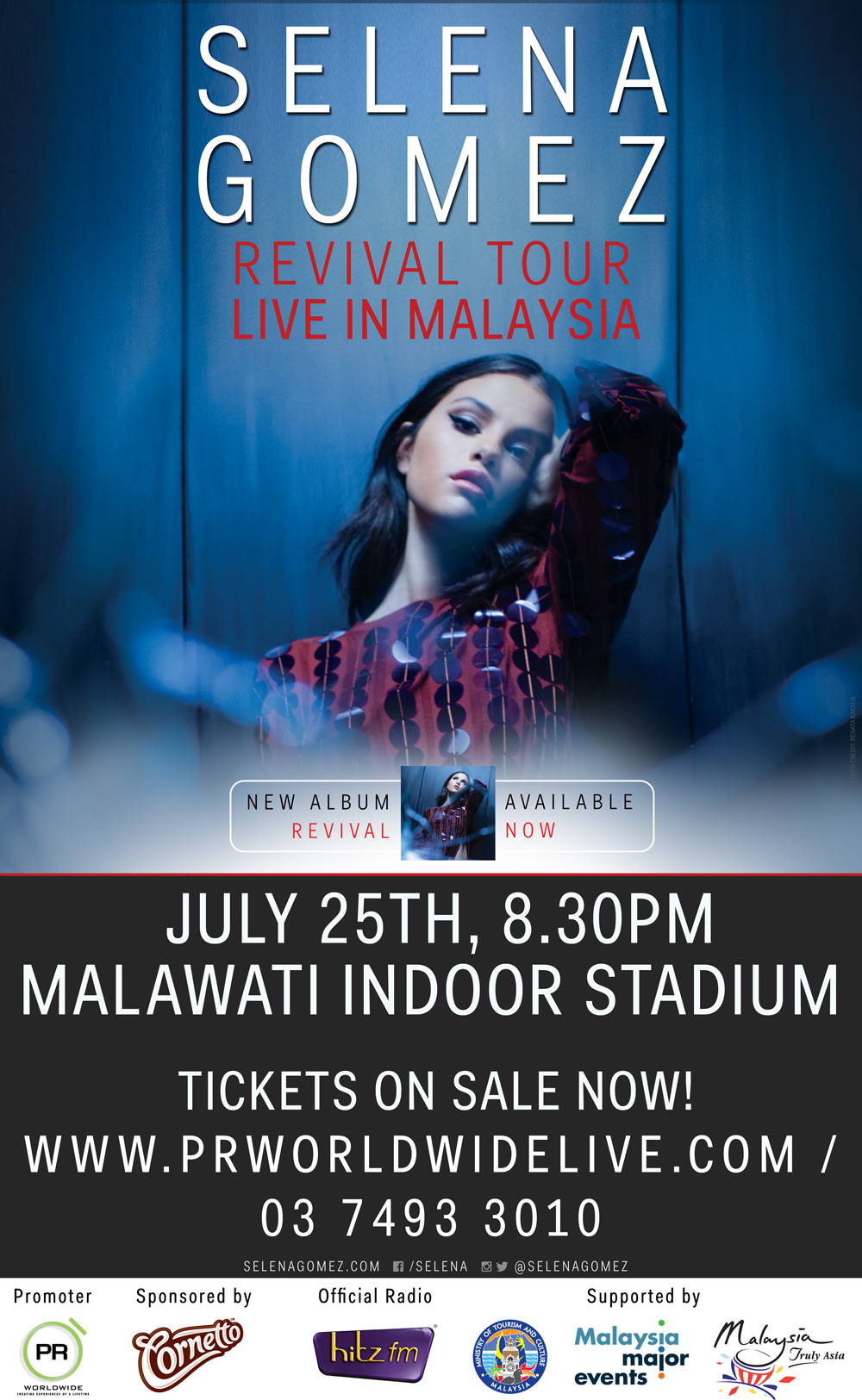 Selena Gomez Live In Malaysia Announcement Pr Worldwide Events Asia