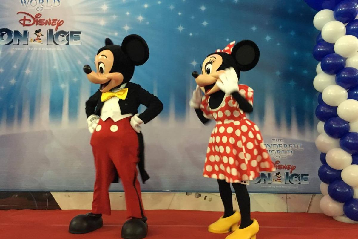 Exclusive Meet & Greet With Stars of Disney On Ice Slide 1