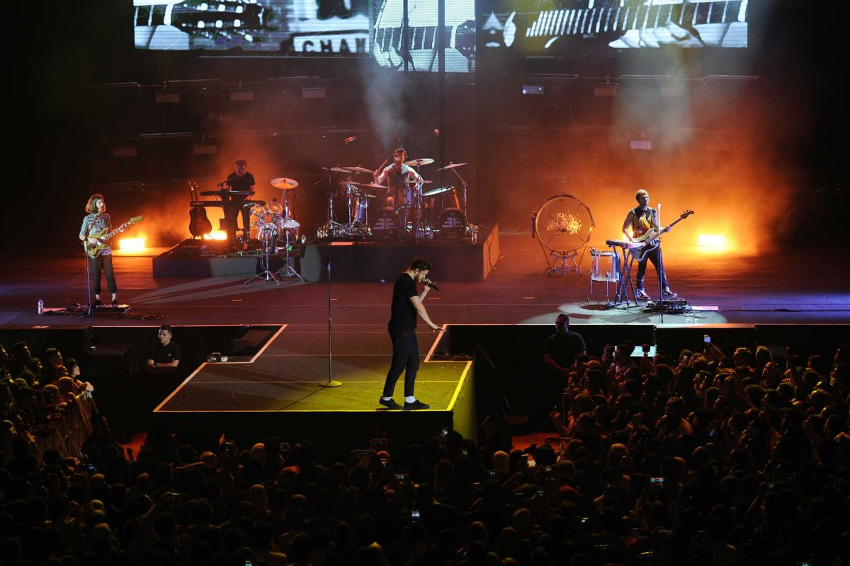 Imagine Dragons Live In Malaysia Slide 1