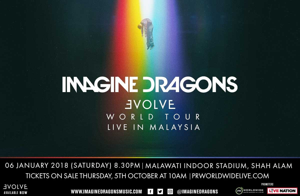Imagine Dragons Live In Malaysia