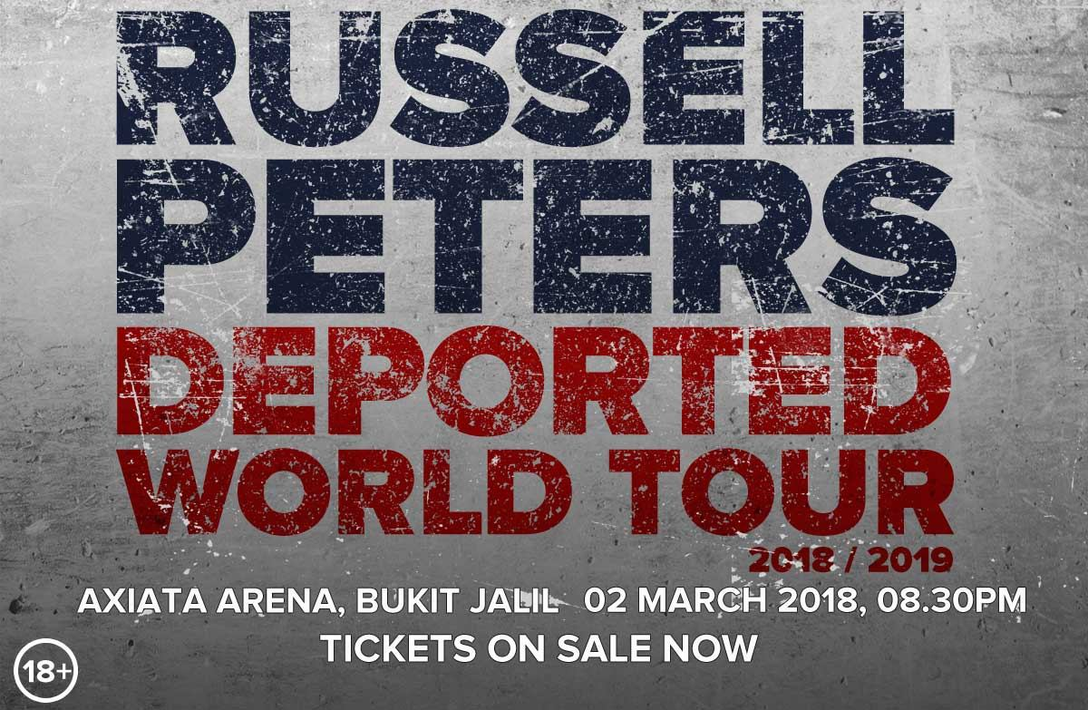 RUSSELL PETERS LIVE IN KUALA LUMPUR