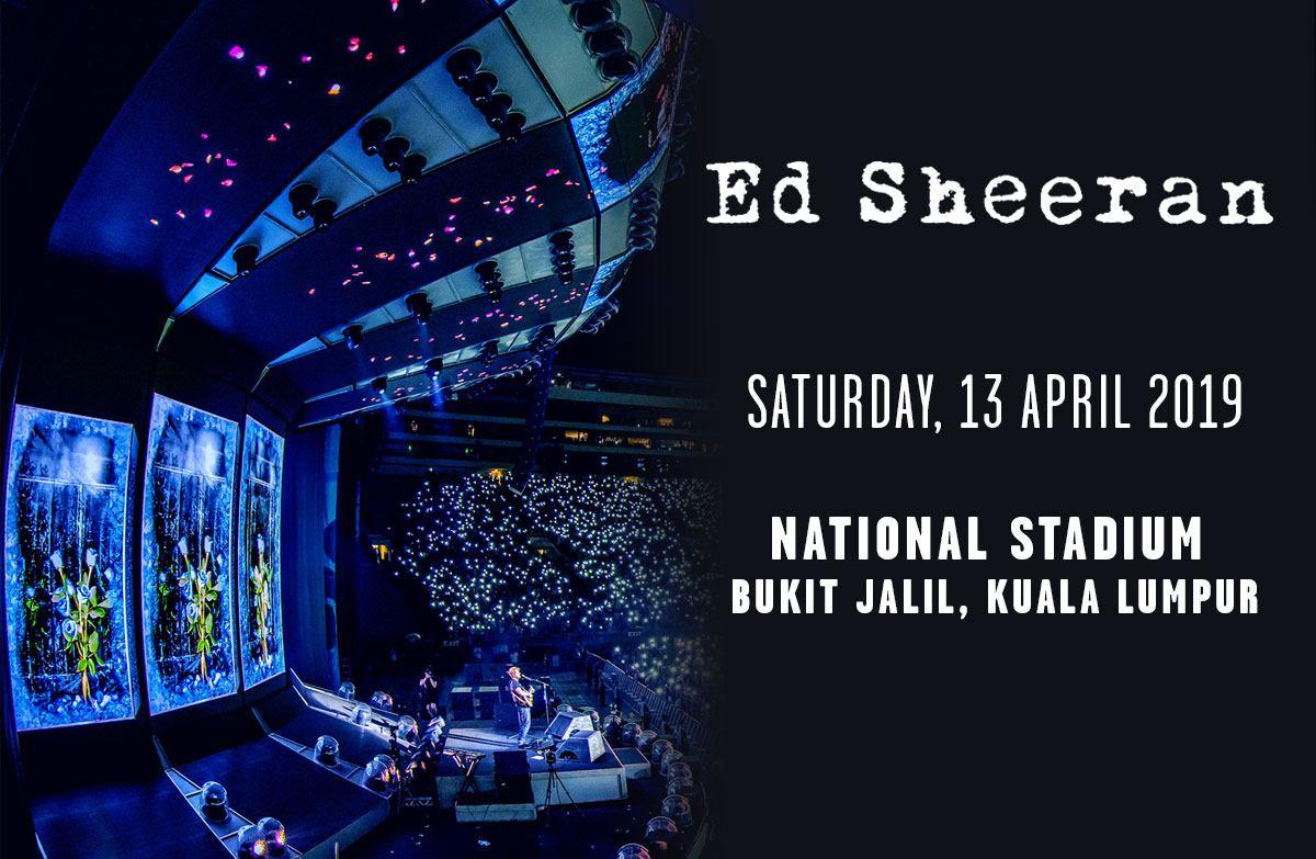 Ed Sheeran Divide World Tour 2019 Kuala Lumpur