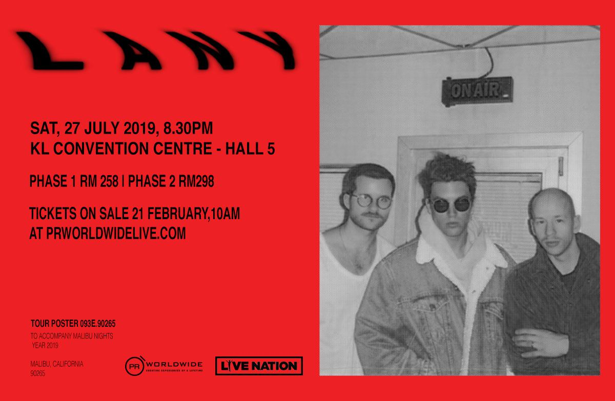 Image result for 3. LANY Kuala Lumpur 2019