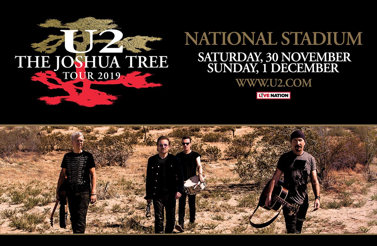 U2: The Joshua Tree Tour 2019 Live in Singapore