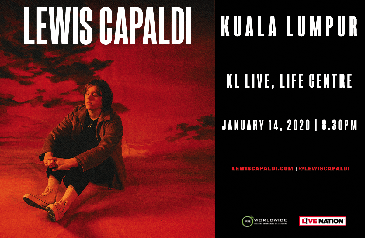Lewis Capaldi Live In Kuala Lumpur | Tickets from RM188
