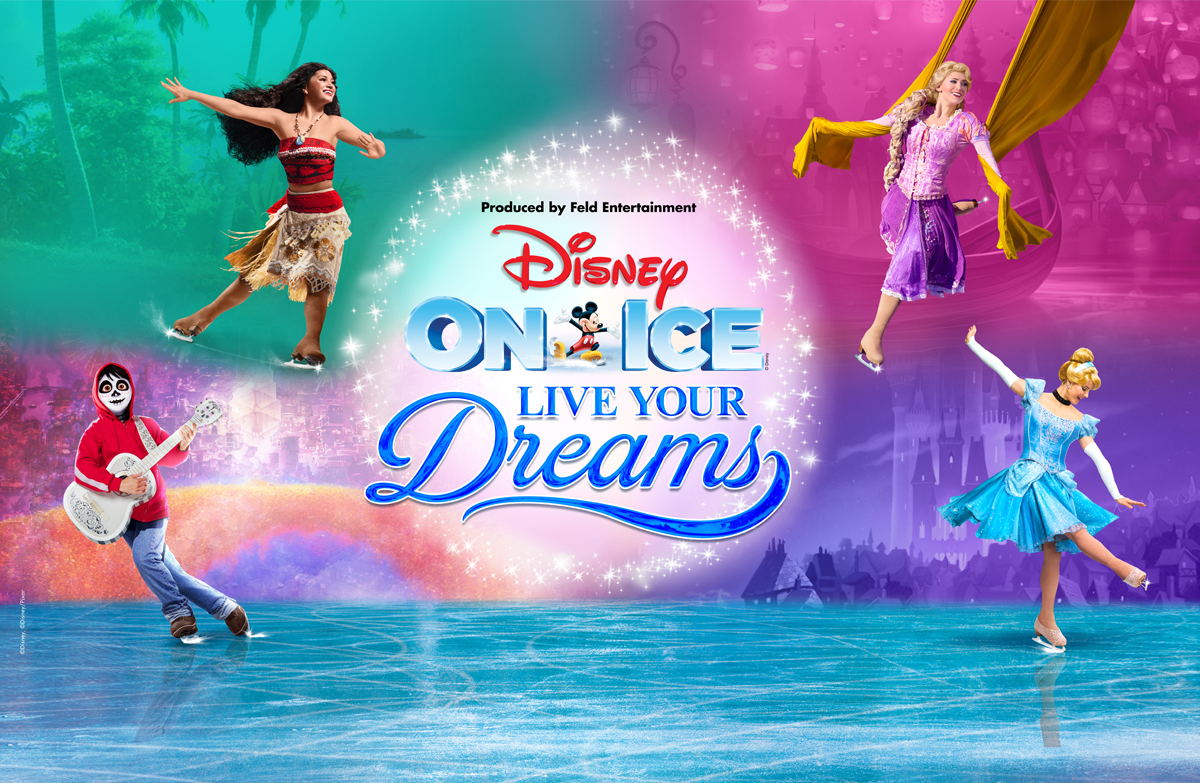 Disney On Ice presents Live Your Dreams – Get tickets from RM58
