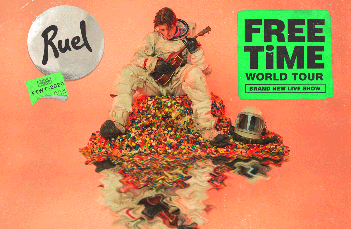 Ruel FREE TIME WORLD TOUR